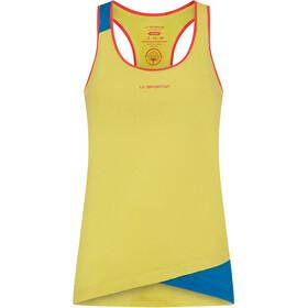 La Sportiva Paige Top Kobiety, żółty/niebieski